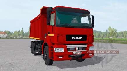 KamAZ 6520-21010-53 v2.1 pour Farming Simulator 2017