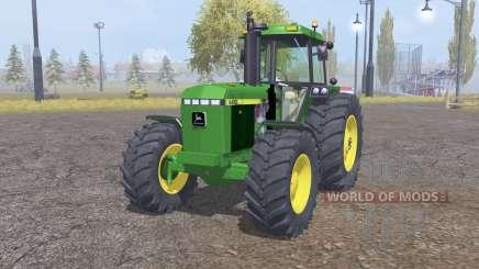 John Deere 4455 front loader pour Farming Simulator 2013