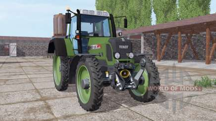 Fendt 820 Vario TMS narrow wheels pour Farming Simulator 2017
