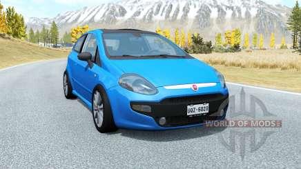 Fiat Punto Evo Sport (199) 2009 pour BeamNG Drive