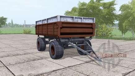 2ПТС-6 brun foncé pour Farming Simulator 2017