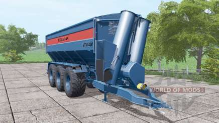 BERGMANN GTW 430 dark blue für Farming Simulator 2017