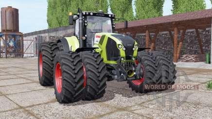 CLAAS Axion 870 double wheels für Farming Simulator 2017