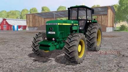 John Deere 4755 lime green für Farming Simulator 2015