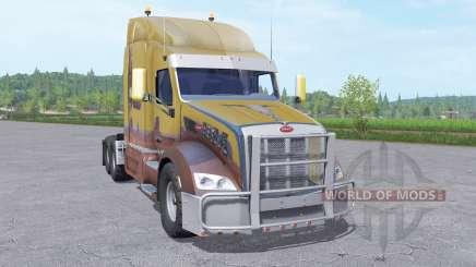 Peterbilt 579 Sleeper Cab pour Farming Simulator 2017