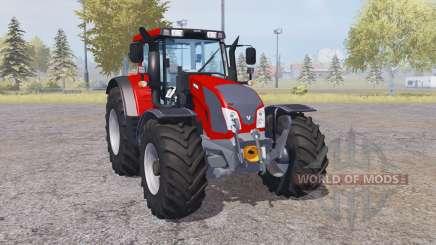 Valtra N163 loader mounting pour Farming Simulator 2013