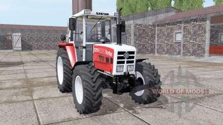 Steyr 8080A Turbo SK2 soft red pour Farming Simulator 2017
