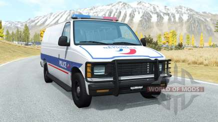 Gavril H-Series Police Nationale pour BeamNG Drive