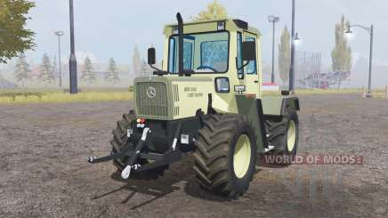 Mercedes-Benz Trac 700 Turbo light yellow für Farming Simulator 2013