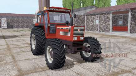 Fiatagri 140-90 Turbo DT dark red pour Farming Simulator 2017
