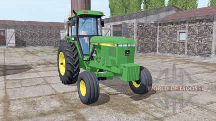 John Deere 4760 green für Farming Simulator 2017