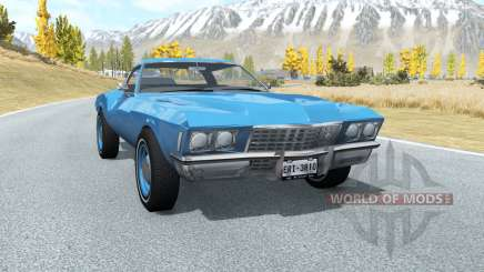 Buick Riviera (49487) 1971 lifted für BeamNG Drive