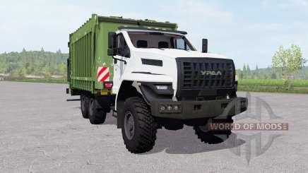 Ural Nächsten (4320-6952-72) garbage truck für Farming Simulator 2017