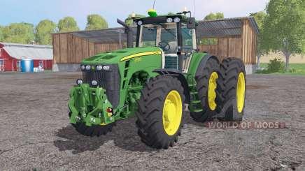 John Deere 8530 dual rear für Farming Simulator 2015
