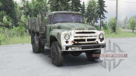 ZIL 130 dark gris-vert pour Spin Tires