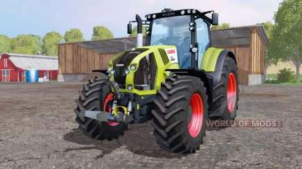 CLAAS Axion 850 bright yellow für Farming Simulator 2015