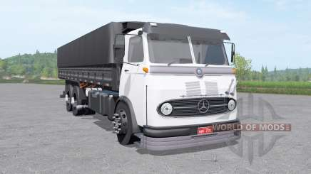 Mercedes-Benz LP 321 3-axle v1.1 pour Farming Simulator 2017