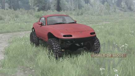 Mazda MX-5 off-road pour MudRunner