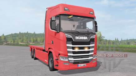Scania S 420 Flatbed für Farming Simulator 2017