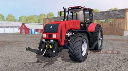 La biélorussie 3522 avec contrepoids pour Farming Simulator 2015