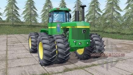 John Deere 8440 green pour Farming Simulator 2017