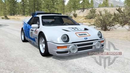 Ford RS200 Evolution Group B rally car 1986 für BeamNG Drive