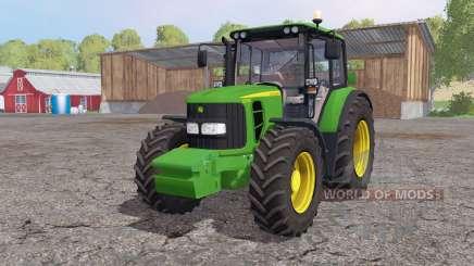 John Deere 6330 interactive control für Farming Simulator 2015