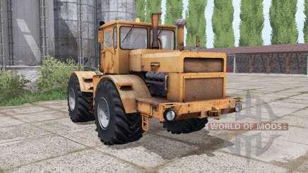 Kirovets K-700a variateur électronique orange pour Farming Simulator 2017
