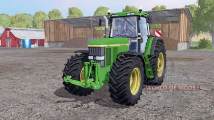 John Deere 7810 twin wheels pour Farming Simulator 2015