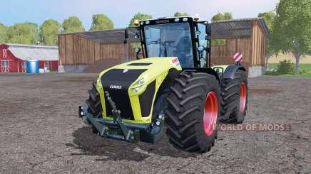 CLAAS Xerion 4500 twin wheels pour Farming Simulator 2015