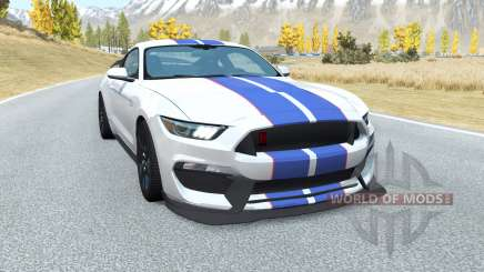 Shelby GT350R Mustang v2.0 pour BeamNG Drive