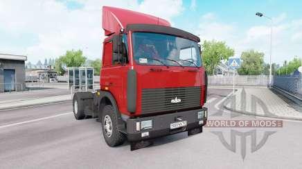 MAZ 54323 v1.33 pour Euro Truck Simulator 2