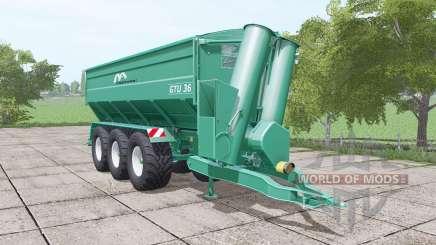 Gustrower GTU 36 für Farming Simulator 2017