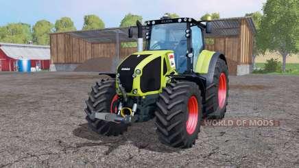 CLAAS Axion 950 twin wheels pour Farming Simulator 2015