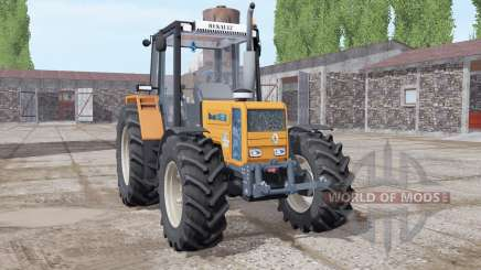 Renault 103-54 soft orange pour Farming Simulator 2017