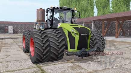 CLAAS Xerion 5000 twin wheels pour Farming Simulator 2017