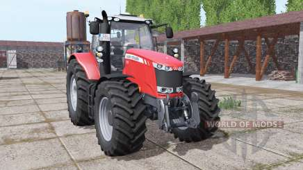 Massey Ferguson 7726 wheels with weights pour Farming Simulator 2017