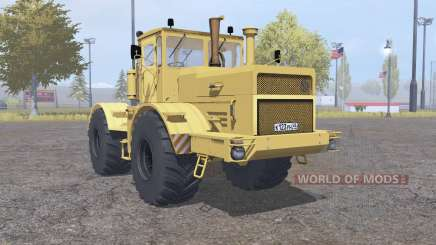 Kirovets K-700a variateur électronique jaune pour Farming Simulator 2013