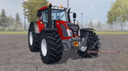 Valtra N163 strong red pour Farming Simulator 2013