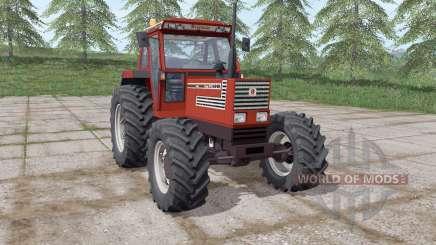 Fiatagri 140-90 Turbo DT rouge foncé pour Farming Simulator 2017