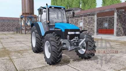 New Holland TM150 vivid blue pour Farming Simulator 2017