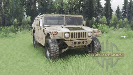 Hummer H1 military pour Spin Tires