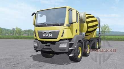 MAN TGS mixer 2015 v1.0.2 pour Farming Simulator 2017