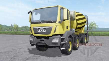 MAN TGS mixer 2015 v1.0.2 für Farming Simulator 2017