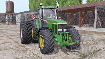 John Deere 7810 dual rear für Farming Simulator 2017