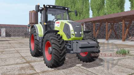 CLAAS Axion 850 front weight pour Farming Simulator 2017