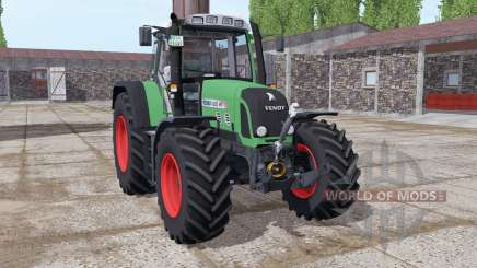 Fendt 820 Vario TMS lime green pour Farming Simulator 2017