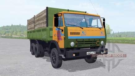 KamAZ 55102 mit einem trailer v1.2 für Farming Simulator 2017