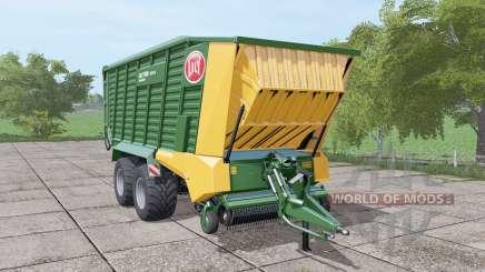 Lely Tigo XR 75 D dark lime green pour Farming Simulator 2017