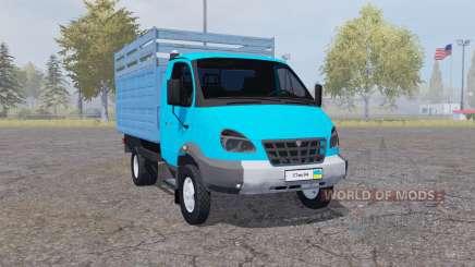 GAZ 3310 Valdai 2004 blau für Farming Simulator 2013